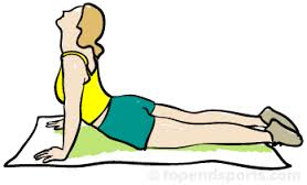 Extension of the spine pilates