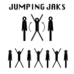 Cardio Training - Jumping Jacks