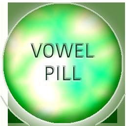 vowel pill